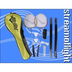 Allright zestaw do badmintona! Rakietki, siatka!