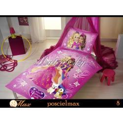 Disney posciel barbie ksiezniczki 160x200 princess