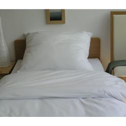 Posciel hotelowa BIALA 160x200 dla hoteli poszewka