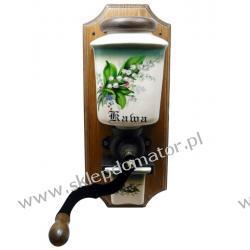 Młynek do kawy wiszący - motyw 'konwalie' Czajniki i imbryki