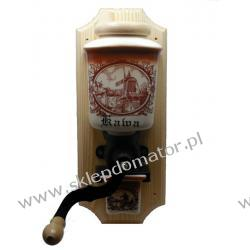 Młynek do kawy wiszący - motyw 'wiatrak klasyczny'