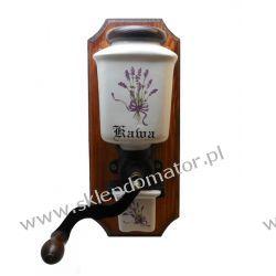Młynek do kawy wiszący - motyw 'lawenda' Czajniki i imbryki