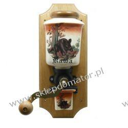 Młynek do kawy wiszący - motyw 'myśliwski - dzik'