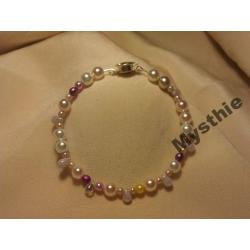 """BRANSOLETKI """"PEARL CHARMS"""""""