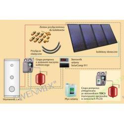 Zestaw solarny ZSH-4 quattroSol plus KOSPEL