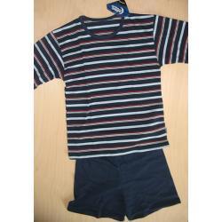 Piżama chłopięca krótki rękaw  rozm. 152