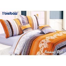 Pościel satynowa Bielbaw 160x200 - 5 elementów - BAROKOWY DUET