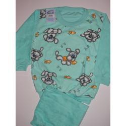 Piżamka chłopięca frotte rozm. 104