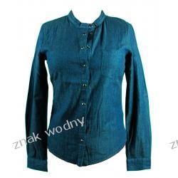 Koszula damska ICHI, kolor jeansowy /niebieski