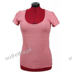 Koszulka damska, MEXX, czerwona melanż