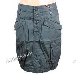 Spódnica, ICHI,  kolor ciemny khaki