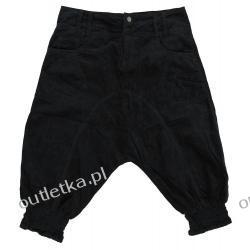 Spodnie z obniżonym krokiem, CULTURE, czarne