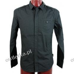 Koszula, BLEND, czarna w drobny wzorek