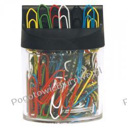 Spinacze kolorowe 26 mm w pudełku magnetycznym