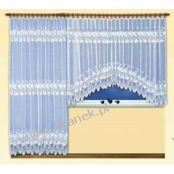 Żakardowy wymiarowy komplet balkonowy firmy HAFT