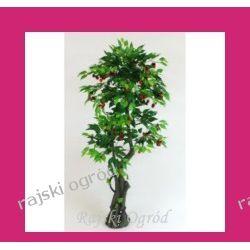 SZTUCZNE DRZEWKO czereśnia ~170 cm drzewko owocowe