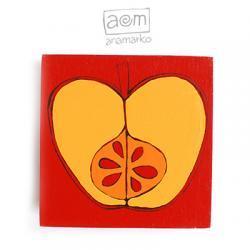 magnes - jabłuszko czerwone
