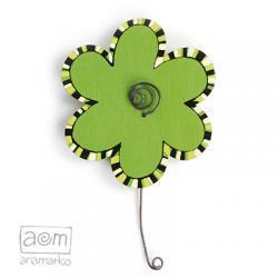 magnes - zielony kwiatek