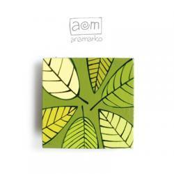 magnes - zielone liście