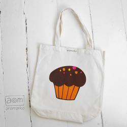torba - muffinka pomarańczowa