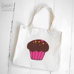 torba - muffinka różowa