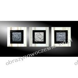"""obrazy nowoczesne """"3 cubes"""" tryptyk do eleganckiego wnętrza"""