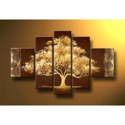 """""""drzewo dobrobytu"""" obrazy nowoczesne na szczęście"""