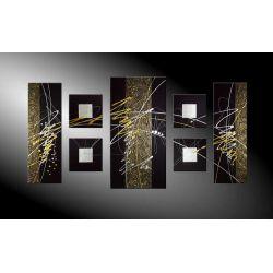 """Obrazy nowoczesne """" delia"""" ręcznie malowane  Antyki i Sztuka"""