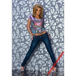 Sensualwomen Spodnie Jeansy Rurki  Hit S/36