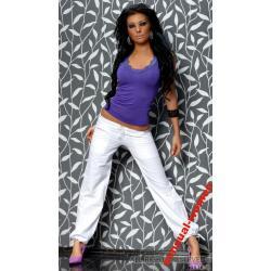 Sensualwomen Sexy Spodnie Białe Lato 2010 S/36
