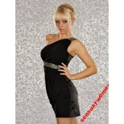 Sensualwomen Sukienka Mini Czarna 38