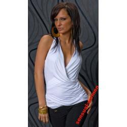 Sensualwomen Sexy Bluzka Biała  M/L