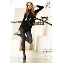 Carrie Ann - Rajstopy wzorzyste 40 DEN wzór 12