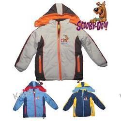 SUPER KURTKA DZIECIĘCA - SCOOBY DOO -snowboard- 37073-S