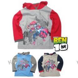 Super bluza chłopięca z kapturem - BEN 10 -przemiana- 33012