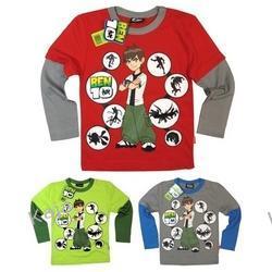 BEN- 10 i KÓŁKA - bluzka dla chłopca -49618-b