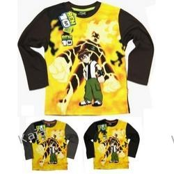 BEN-10 - Ognisty -FOTOPRINT -Bluzka dla chłopca - 46696-B