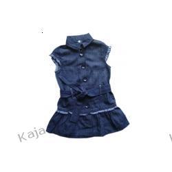 Dziewczęca sukienka Kratka 02392 A
