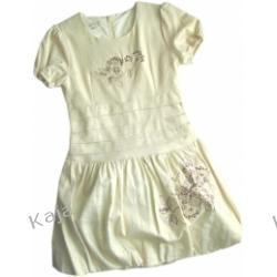 Kremowa sukienka Perła 02230 A