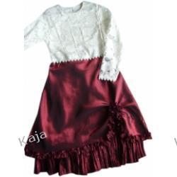 Margo - wizytowa sukienka dziewczęca 02493 A