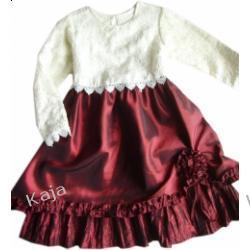 Margo - wizytowa sukienka dziewczęca 02494 A