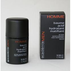 Aktywny balsam nawilżająco-matujący MEN Academie- Baume actif hydratant matifiant Kremy na dzień