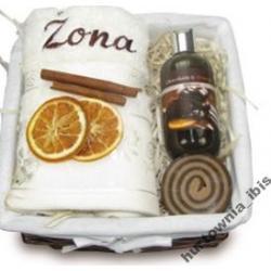 Stara Mydlarnia Zestaw kosmetyków z ręcznikiem