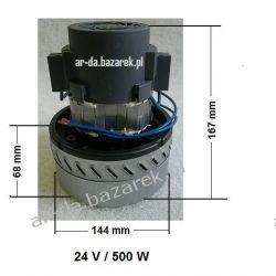 Silnik z turbiną ssącą 24 V / 500 W Myjki ciśnieniowe