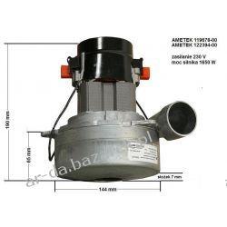 Silnik ssący AMETEK 230 V / 1650 W do odkurzaczy centralnych Myjki ciśnieniowe