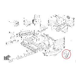 Przekładnia napędu szczotki lewej Comac C-85 i C-100 Automaty szorujące