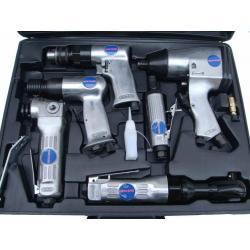 zestaw 6 częściowy narzędzi pneumatycznych