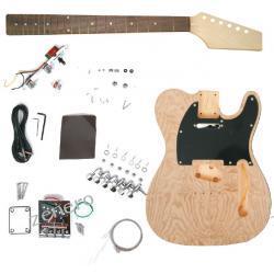 Gitara elektryczna do samodzielnego montażu