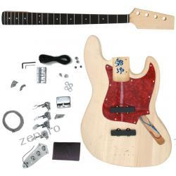 Basowa gitara elektryczna do samodzielnego montażu