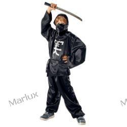 Strój Ninja czarny134/140
